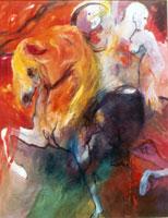 Un cheval de troie expression